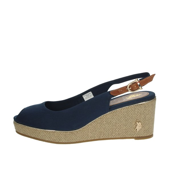 U.s. Polo Assn Shoes Sandals Blue AGATA4089S0