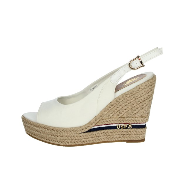 U.s. Polo Assn Shoes Sandals White AYLIN4091S0