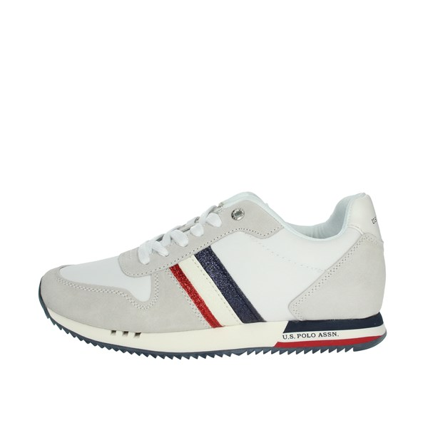U.s. Polo Assn Shoes Sneakers White CORA4205W9