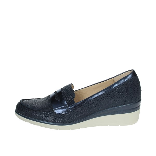 Pitillos Shoes Moccasin Blue 6020