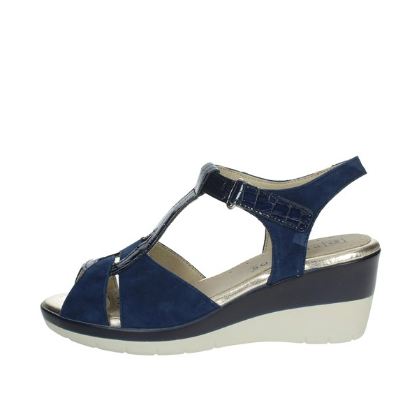 Pitillos Shoes Sandals Blue 6032