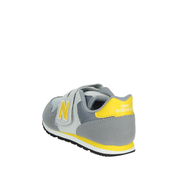 New Balance Shoes Sneakers Grey/Yellow  YV373AG