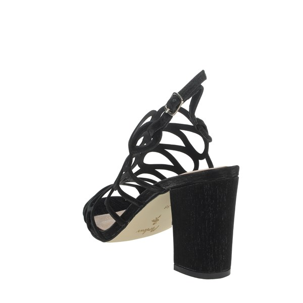 Menbur Shoes Sandals Black 09254
