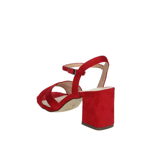 Menbur Shoes Sandals Red 21862