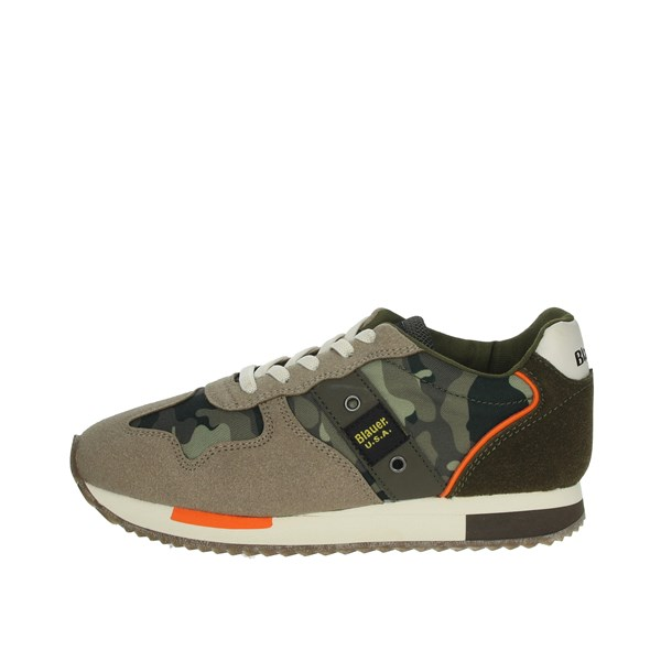 Blauer Shoes Sneakers Dark Green S0DASH02