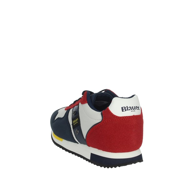 Blauer Shoes Sneakers Blue/Red S0DASH02
