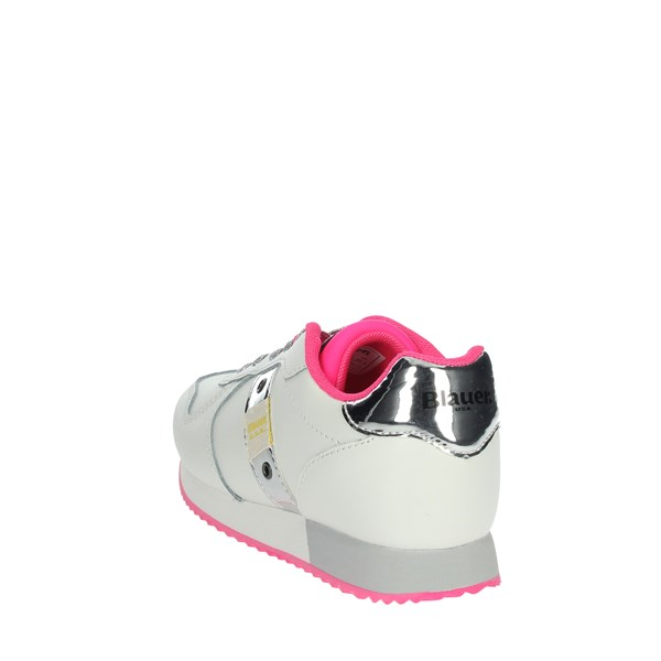 Blauer Shoes Sneakers White/Fuchsia S0LILLI01