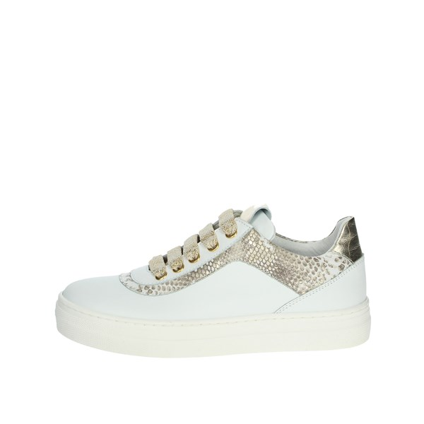 Le Petit Bijou Shoes Sneakers White/Gold 6430LPB