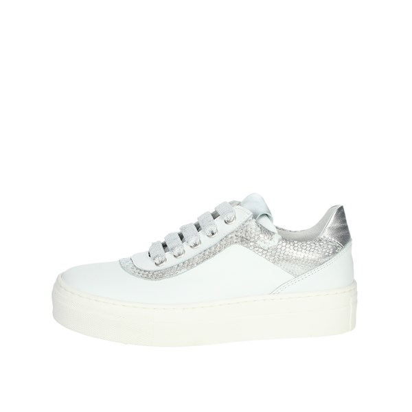 Le Petit Bijou Shoes Sneakers White/Silver 6430LPB