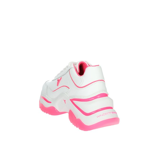 Windsor Smith Shoes Sneakers White/Fuchsia CHAOS