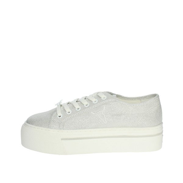 Windsor Smith Shoes Sneakers Silver RUBY