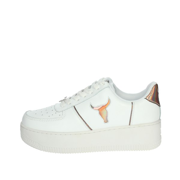 Windsor Smith Shoes Sneakers WHITE / POWDER ROSY