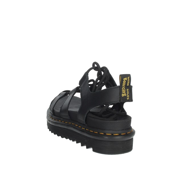 Dr Marten's Shoes Sandals Black NARTILLA
