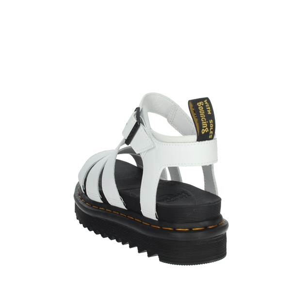 Dr Marten's Shoes Sandals White BLAIRE