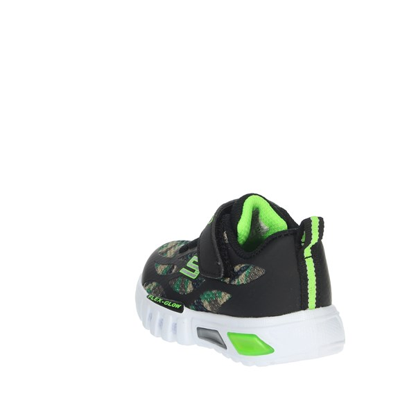 Skechers Shoes Sneakers Black/Green 400017N