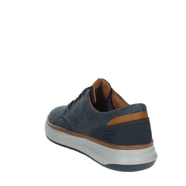 Skechers Shoes Comfort Shoes  Blue 65981