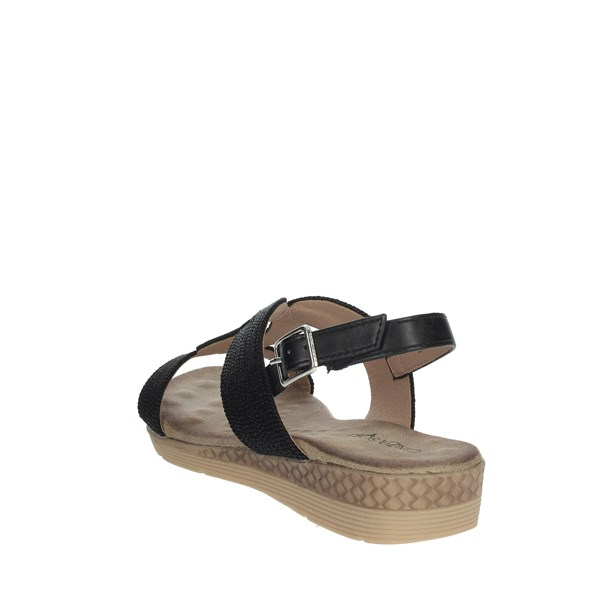 Cinzia Soft Shoes Sandals Black MCA1926