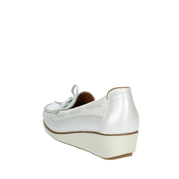Cinzia Soft Shoes Moccasin White MTB7720