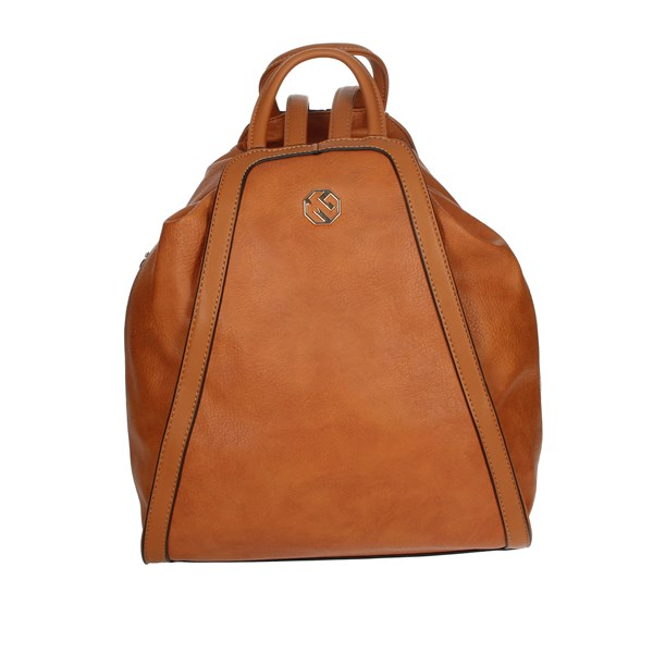 Marina Galanti Accessories Backpacks Brown leather MBMD0067BK2