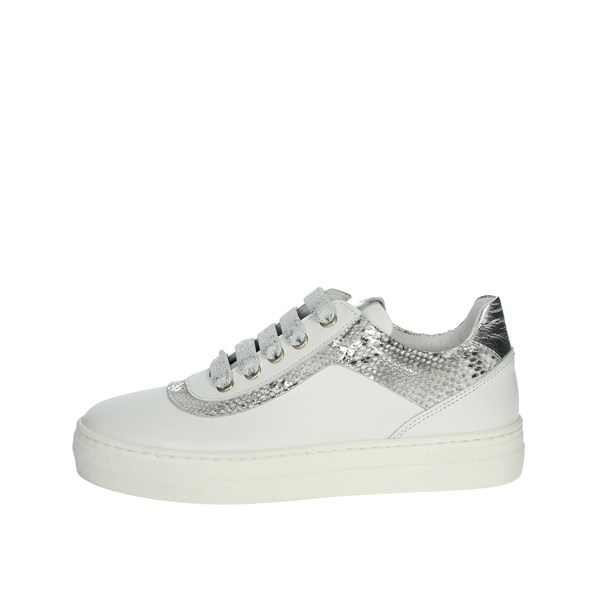 Le Petit Bijou Shoes Sneakers White/Silver C4