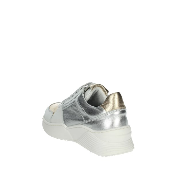 Le Petit Bijou Shoes Sneakers Silver/Gold  C6