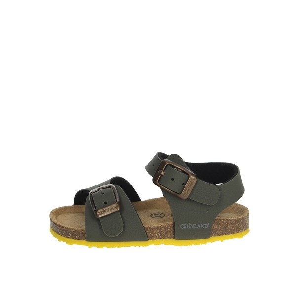 Grunland Shoes Sandal Dark Green SB0413-40