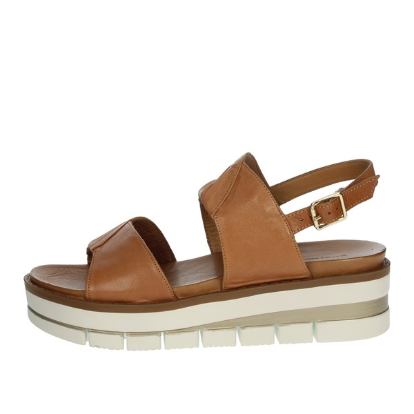 Grünland Shoes Sandal Brown leather SA2540-18