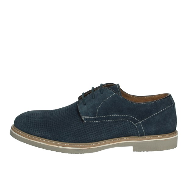 Pregunta Shoes Brogue Blue PIA57782
