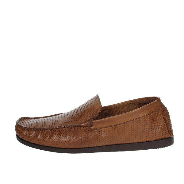 Pregunta Shoes Moccasin Brown leather MIAP1405