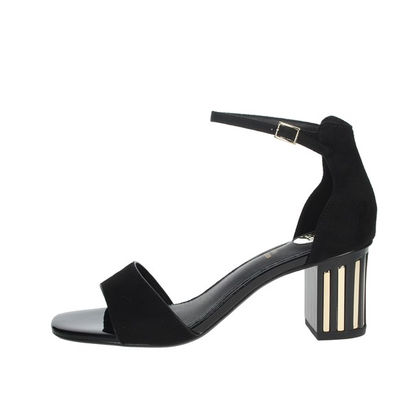 Exe Shoes Sandal Black SONIA-235
