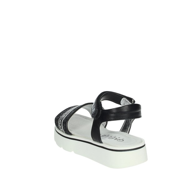 Gaelle Paris Shoes Sandals Black G-310
