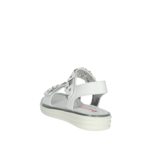 Asso Shoes Sandals White/Silver AG-7305