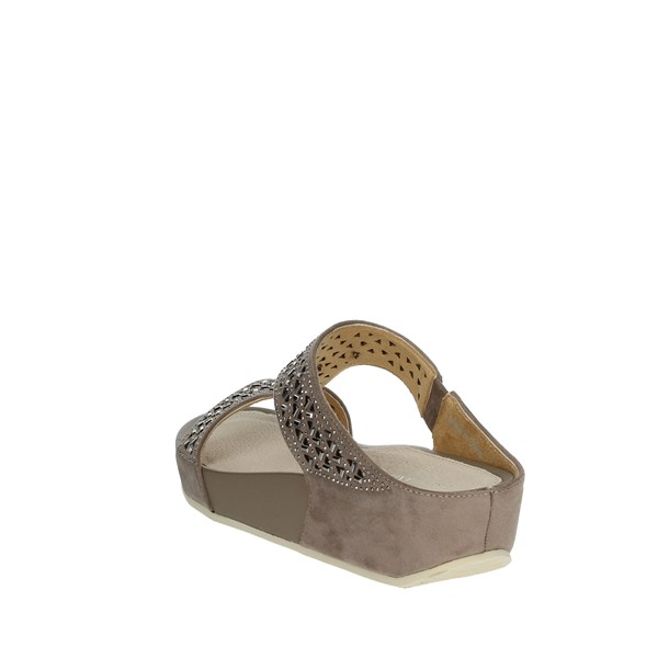 Grünland Shoes Clogs Brown Taupe CI2832-C9