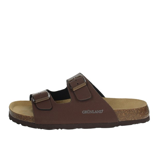 Grunland Shoes Clogs Brown CB3012-40