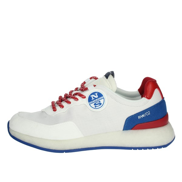 North Sails Shoes Sneakers White/Red SHARK