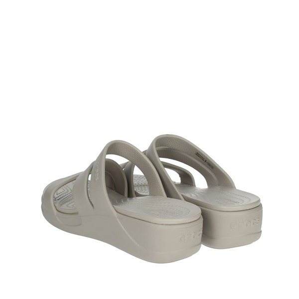 Crocs Shoes Clogs Grey 206304