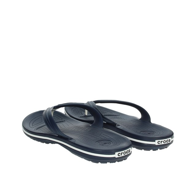 Crocs Shoes Flip Flops Blue 11033