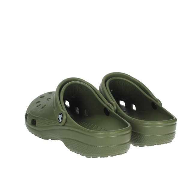 Crocs Shoes Clogs Dark Green 10001