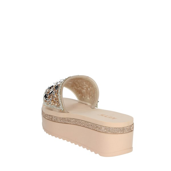 Keys Shoes Clogs Light dusty pink K-1770