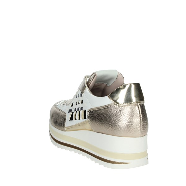 Comart Shoes Sneakers White/Gold 1A3385