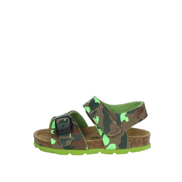 Grunland Shoes Sandal Dark Green SB0385-40