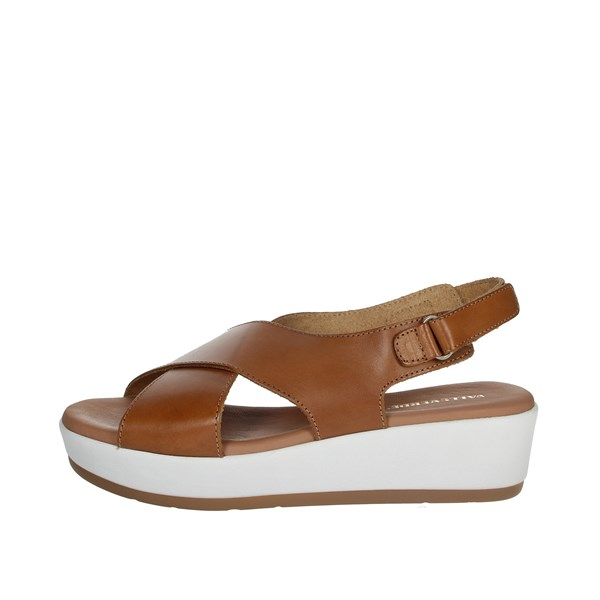 Valleverde Shoes Sandals Brown leather 34229