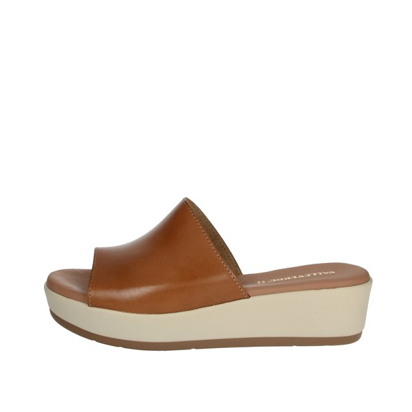 Valleverde Shoes Clogs Brown leather 34221