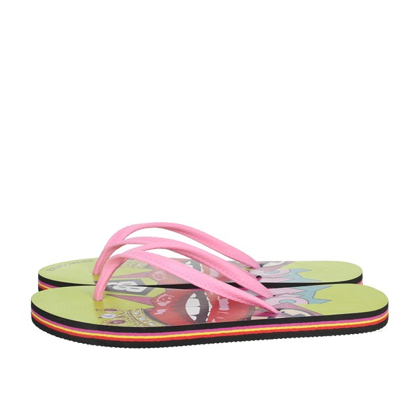 Braccialini Shoes Flip Flops Yellow BR114