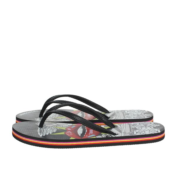 Braccialini Shoes Flip Flops Black BR114