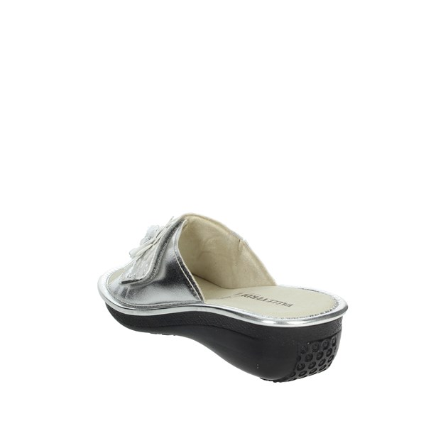 Valleverde Shoes Clogs Silver MONO