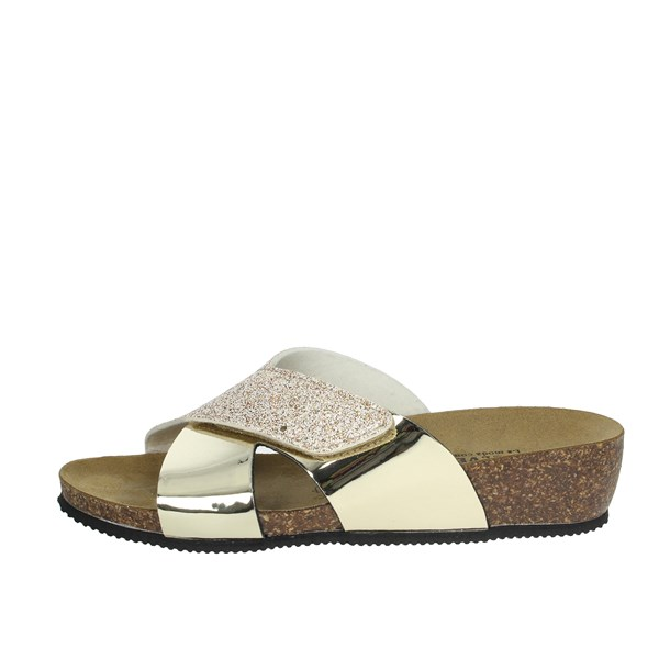 Valleverde Shoes Clogs Gold G51299