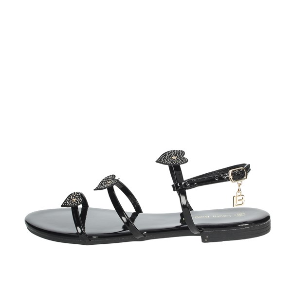 Laura Biagiotti Shoes Sandals Black 6070