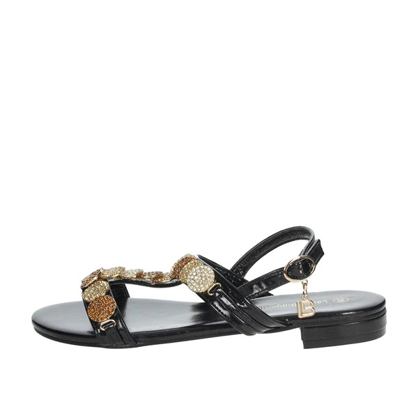 Laura Biagiotti Shoes Sandals Black 6332