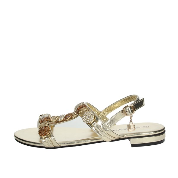 Laura Biagiotti Shoes Sandals Gold 6332